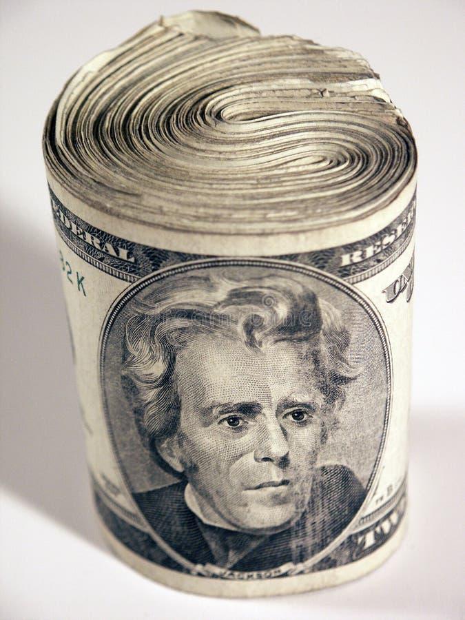 Rolle der Rechnungen lizenzfreie stockfotografie