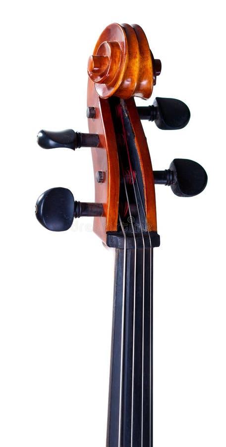 Rolle des Cellos lizenzfreies stockbild