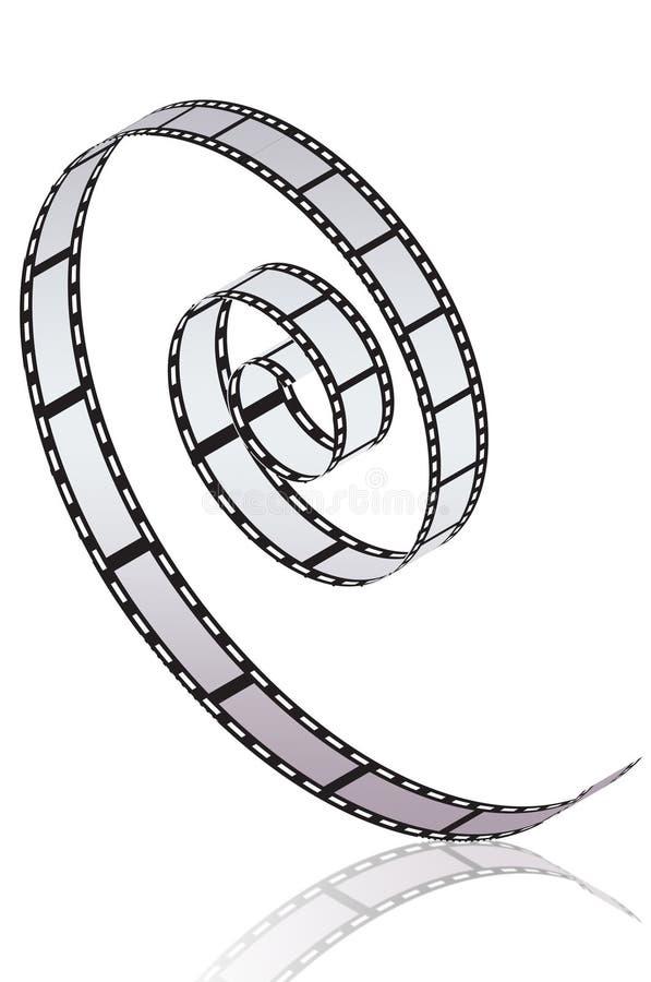 Rolle des Filmes lizenzfreie abbildung
