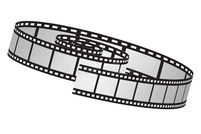 Rolle des Filmes vektor abbildung