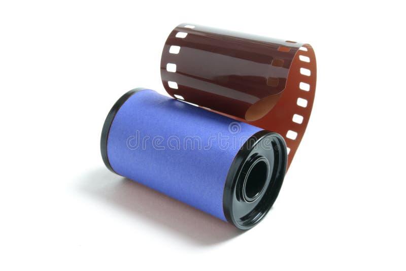Rolle des Kamera-Filmes stockfotografie