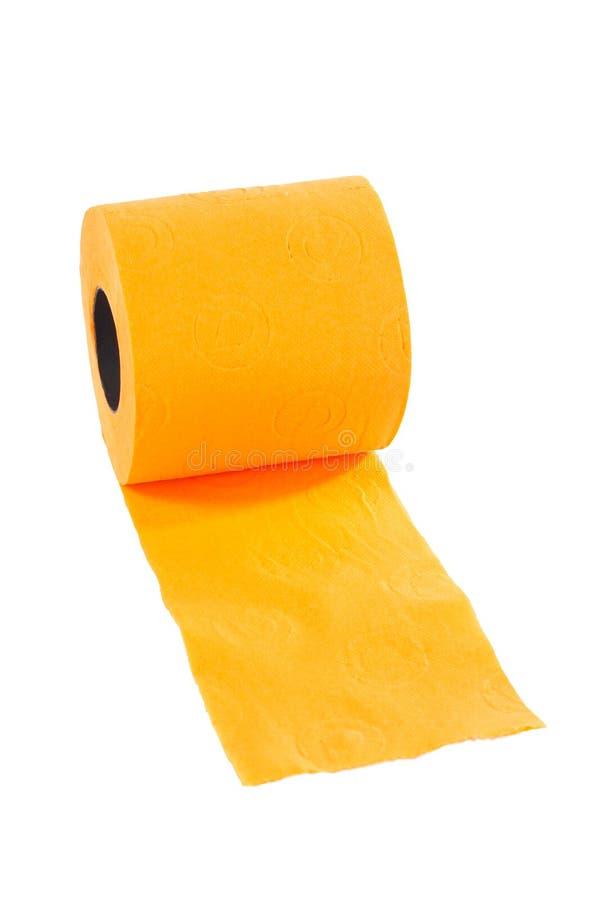 Rolle des Toilettenpapiers lizenzfreie stockfotografie
