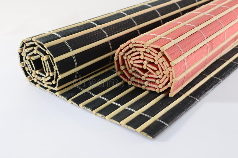Download Rolled bamboo mats stock photo. Image of view, bamboo - 18062180