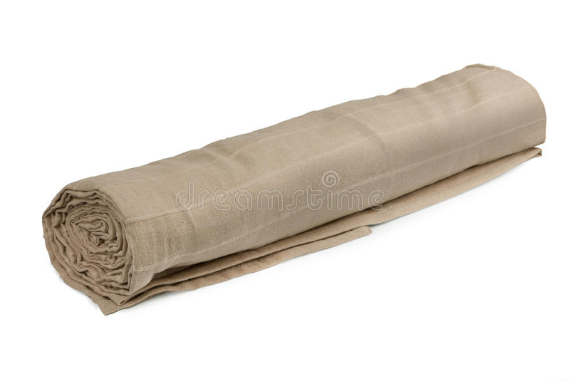 Rolled Fabric Stock Image
