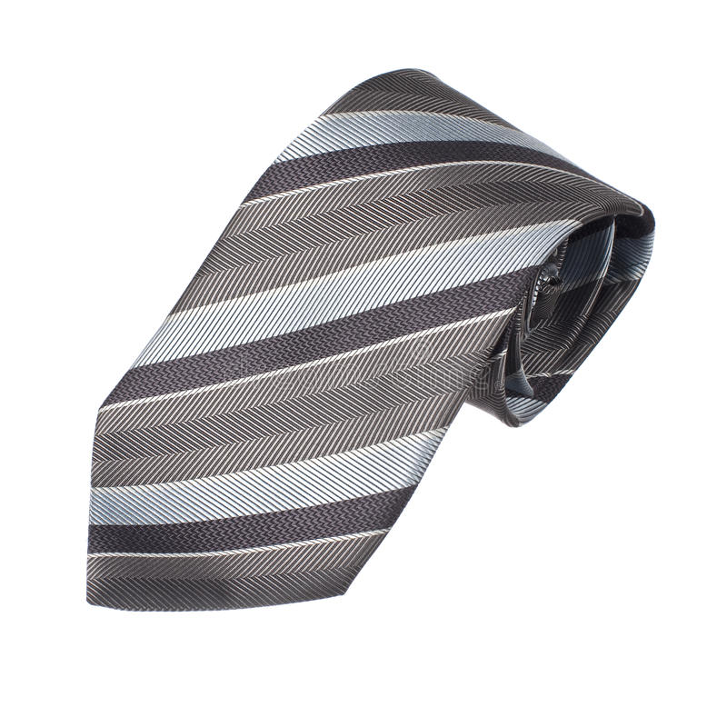 Rolled Neck Tie stock photo