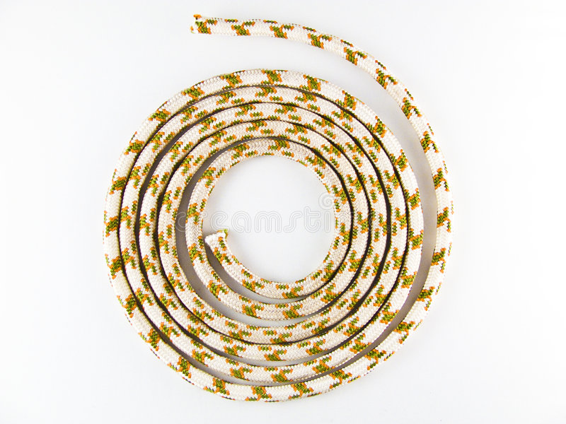 Rolled rope stock images