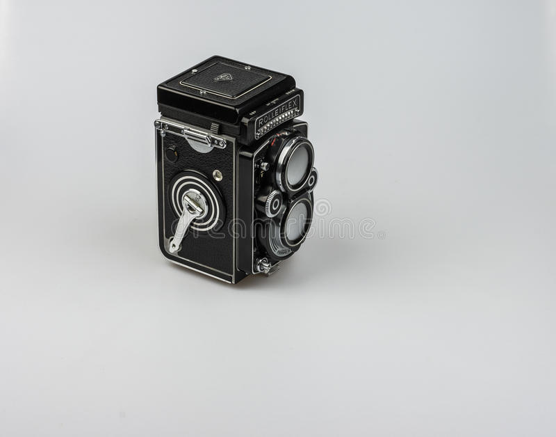 Rolleiflex F3.5 - Model 3 1960-1964. royalty free stock photos