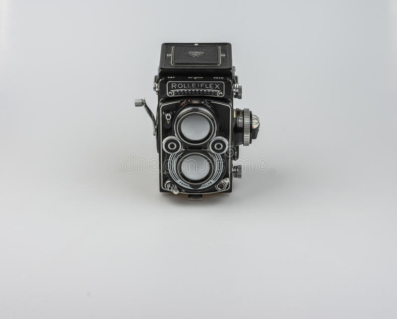 Rolleiflex F3.5 - Model 3 1960-1964. royalty free stock images