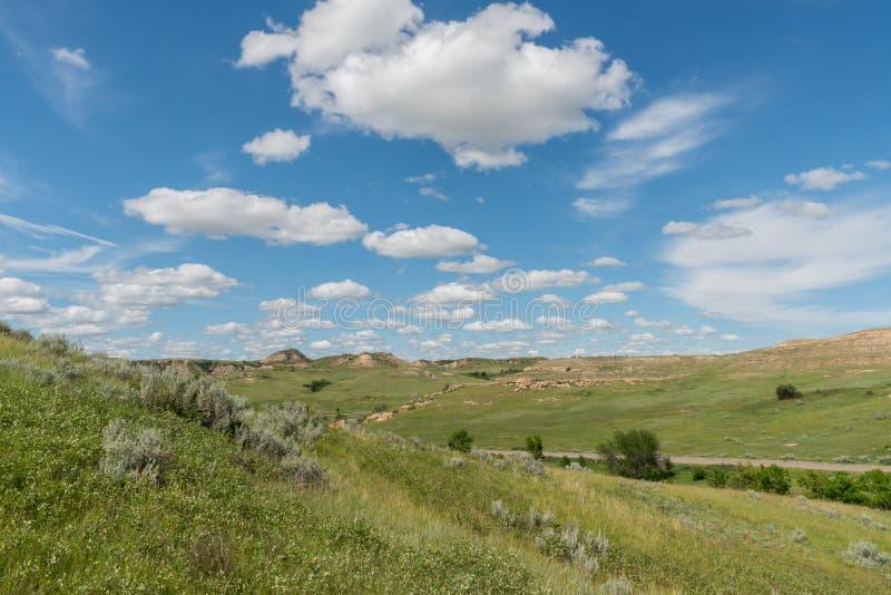 Rollende Prarie-Hügel stockbilder