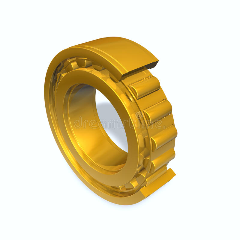 Download Roller bearing stock illustration. Illustration of ball - 14657305