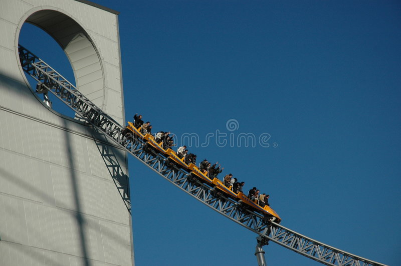 Roller Coaster Stock Photos