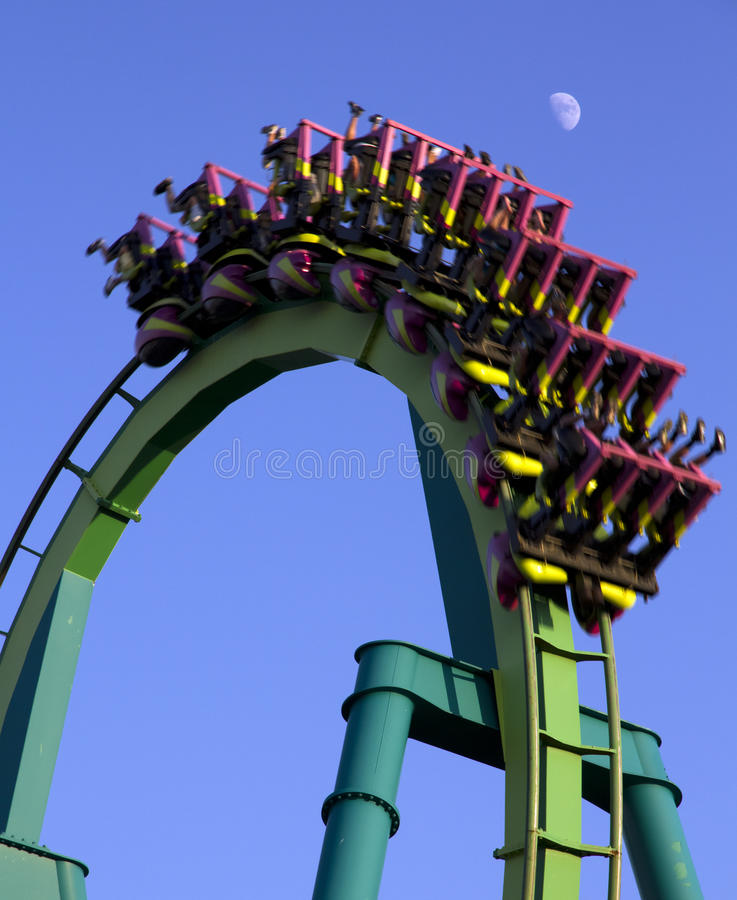 Download Roller coaster stock image. Image of blurred, roller - 14954729