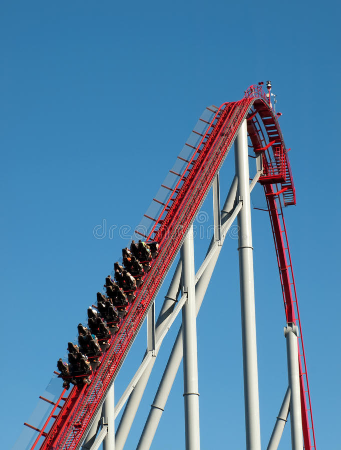 Roller coaster immagine stock libera da diritti