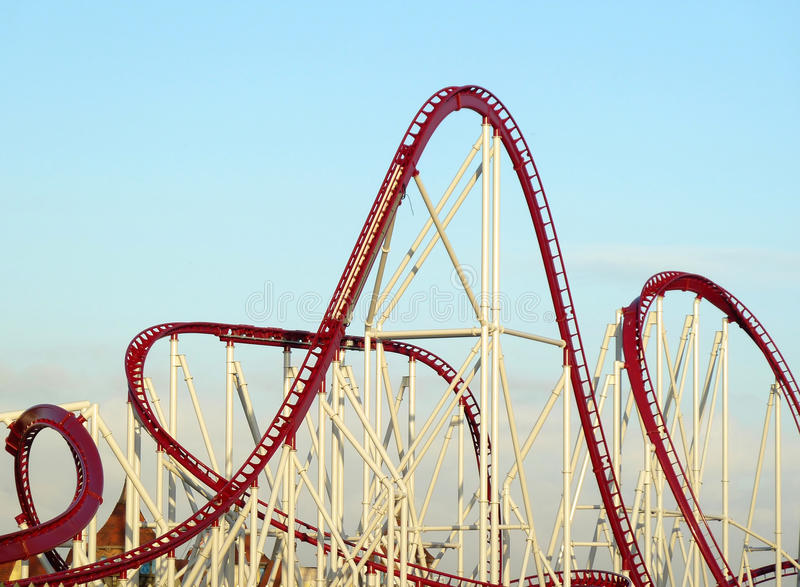 Download Roller-coaster Royalty Free Stock Images - Image: 17364959