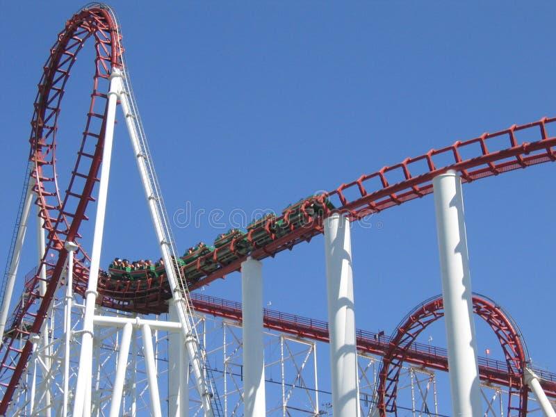 Download Roller coaster stock photo. Image of roller, loop, adrenaline - 190046