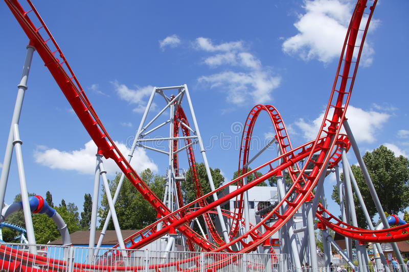 Download Roller coaster stock image. Image of ride, drayton, rollercoaster - 19794321