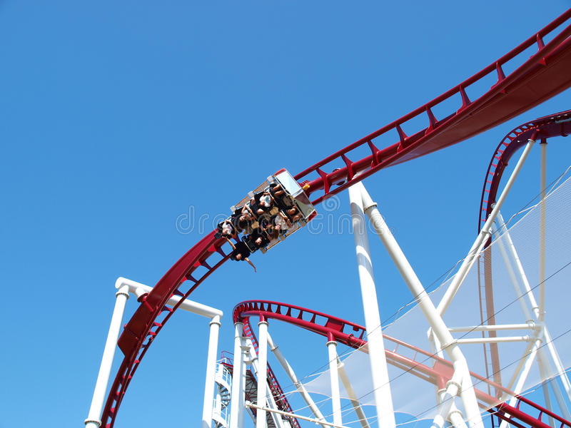 Download Roller-coaster editorial photography. Image of frame - 20027607