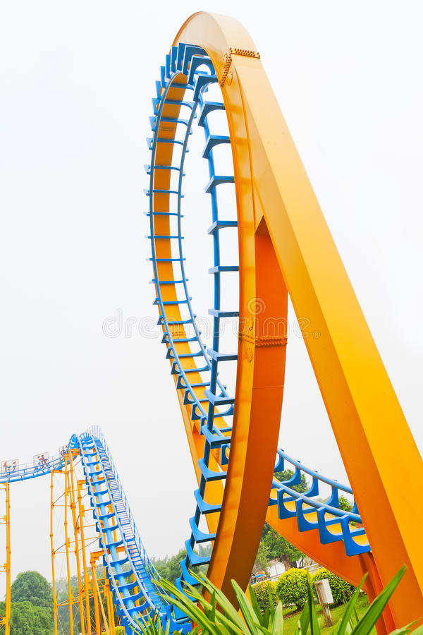 Download Roller Coaster stock photo. Image of coast, ride, bright - 22199798