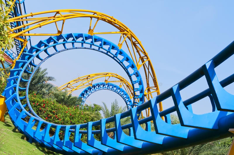Download Roller Coaster stock photo. Image of excitement, festive - 24676798