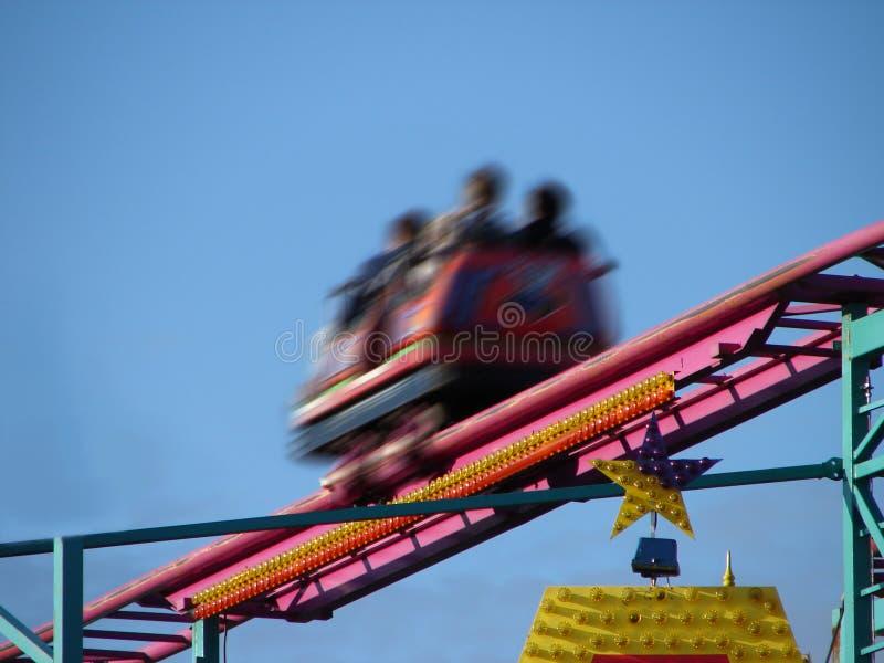 Roller coaster immagine stock