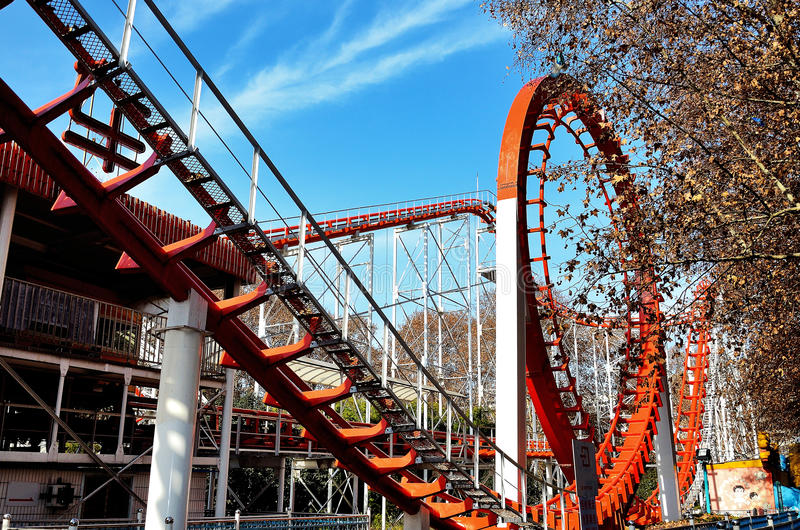 Download Roller Coaster Stock Photography - Image: 28464622