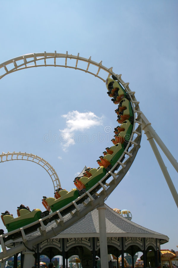 Roller Coaster 4 stock photography