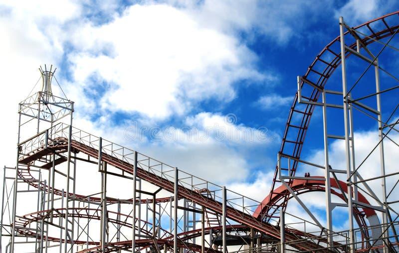 Roller coaster fotos de archivo libres de regalías