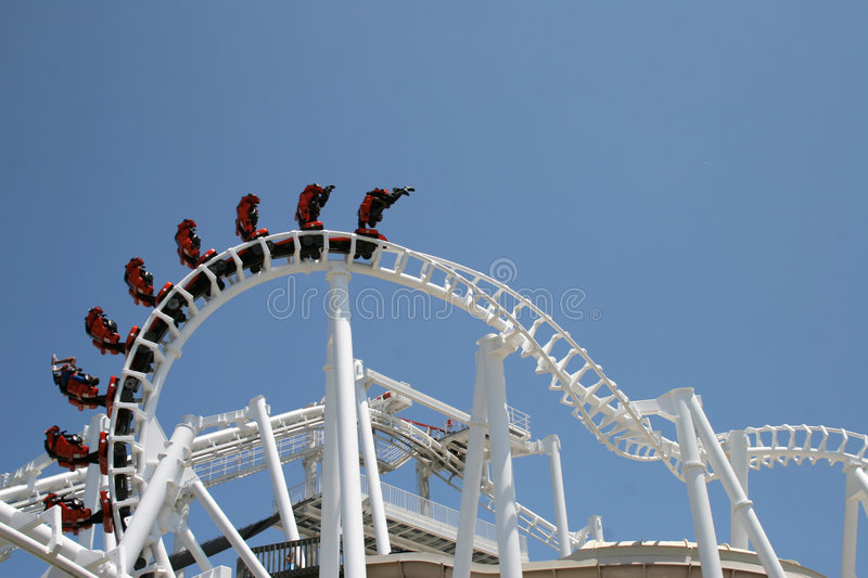Download Roller Coaster 5 stock image. Image of pier, scary, excitment - 946323