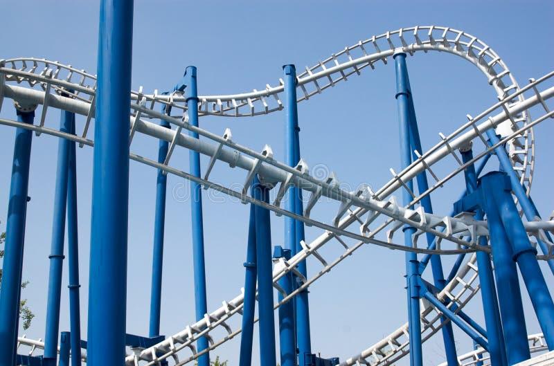 Roller coaster fotografia stock