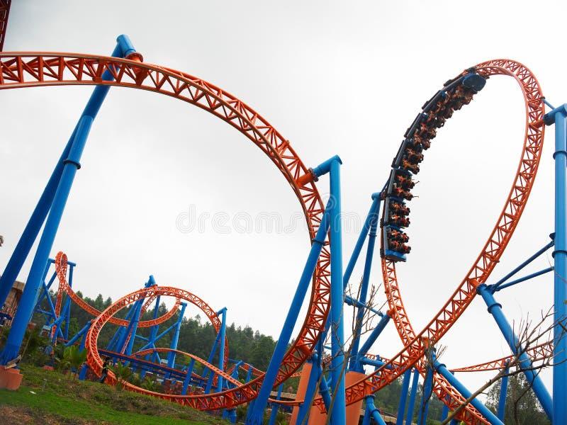 Roller coaster fotos de stock royalty free