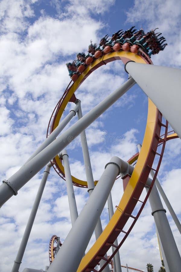Roller Coaster Editorial Image