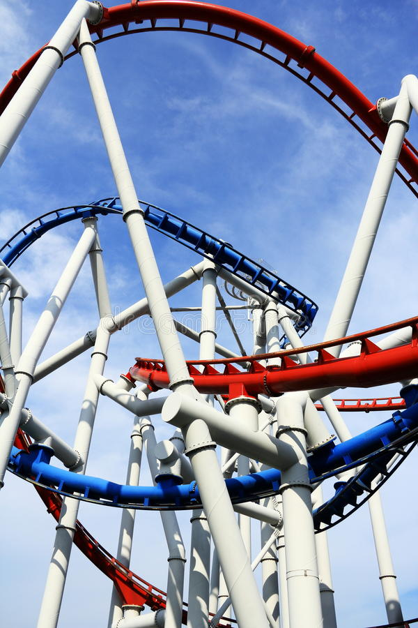 Download Roller Coaster Royalty Free Stock Photo - Image: 34274075