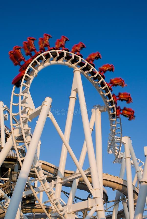 Roller coaster (invertito) immagine stock libera da diritti