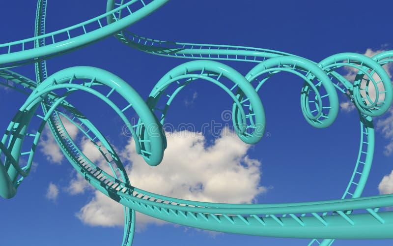 Roller coaster louco