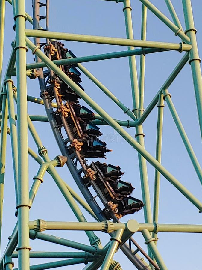 Roller Coaster Ride stock fotografie