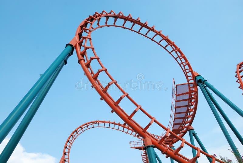 Roller coaster in Tailandia fotografia stock libera da diritti
