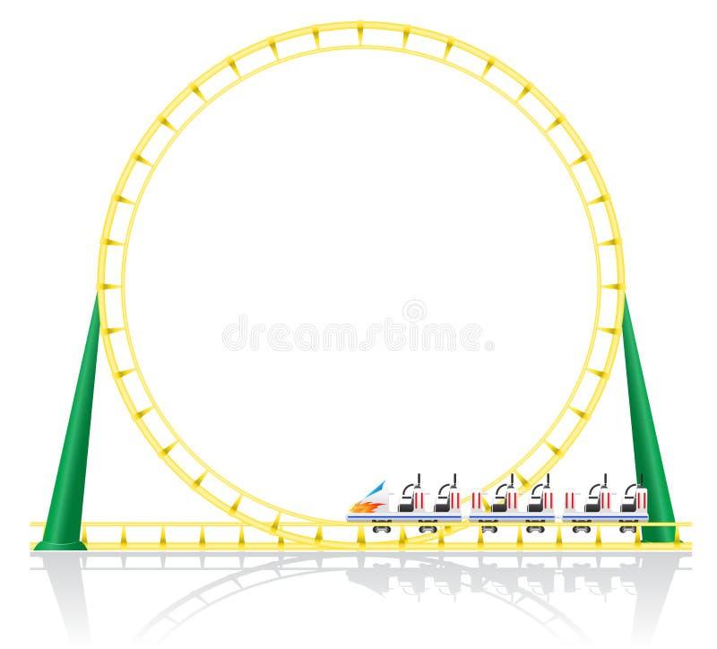 Download Roller Coaster Vector Illustration Stock Vector - Image: 33876615
