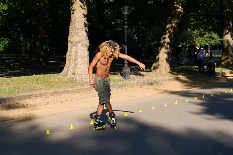 Download Roller On Hyde Park, London. Editorial Photo - Image: 18348546