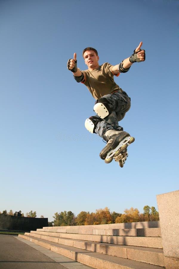 Roller jumps 5 stock photos