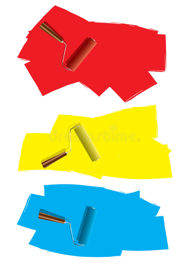 Download Roller Paint Concept Royalty Free Stock Photography - Image: 26941637