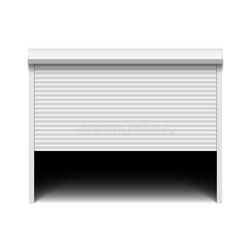 Free Roller Shutter Garage Door Royalty Free Stock Images - 34499669