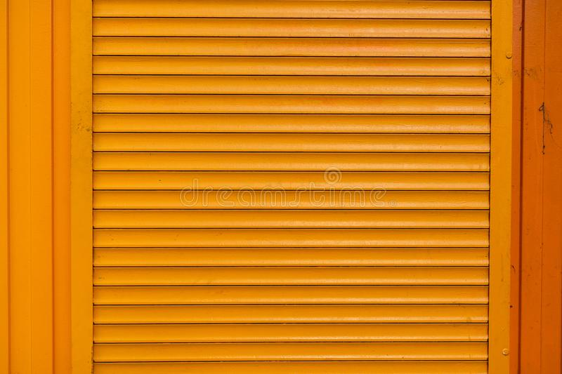 Roller shutter texture. Usable for graphic design or print stock photo