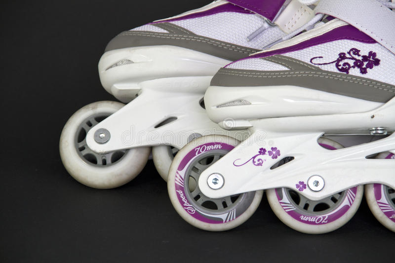 Download Roller skate stock photo. Image of wheeels, roller, white - 25832140