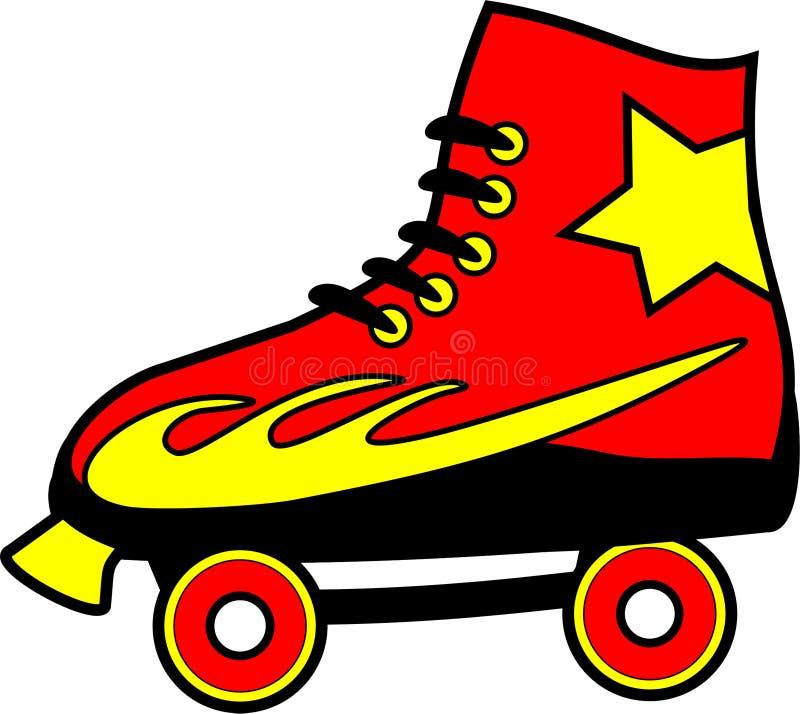 Roller Skate royalty free illustration