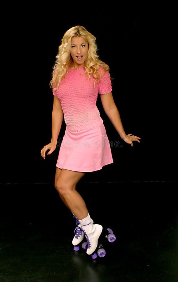 Download Roller Skate Girl Royalty Free Stock Images - Image: 121139