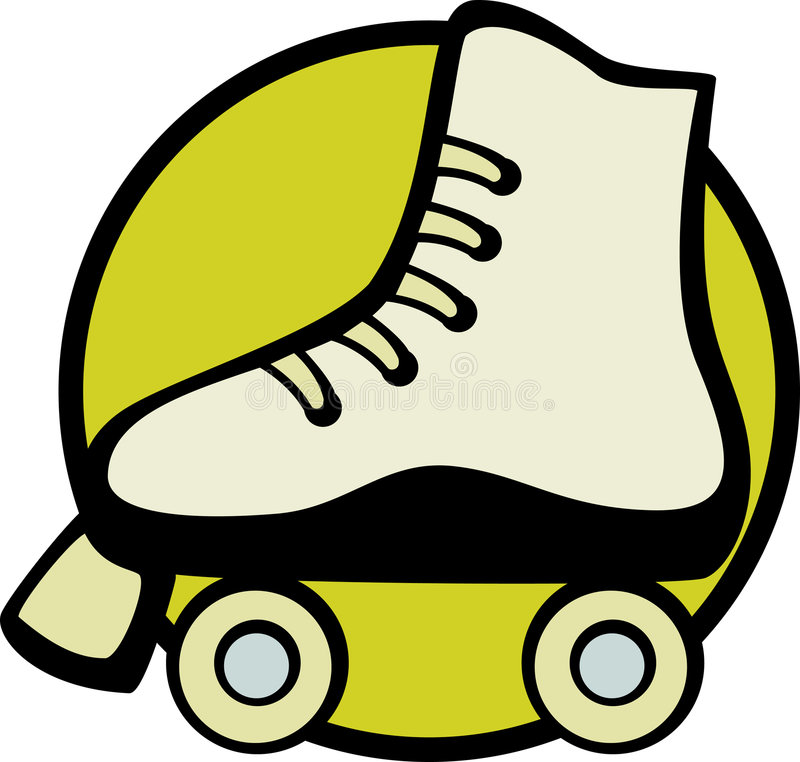 Download Roller Skate Vector Illustration Royalty Free Stock Photography - Image: 2595207