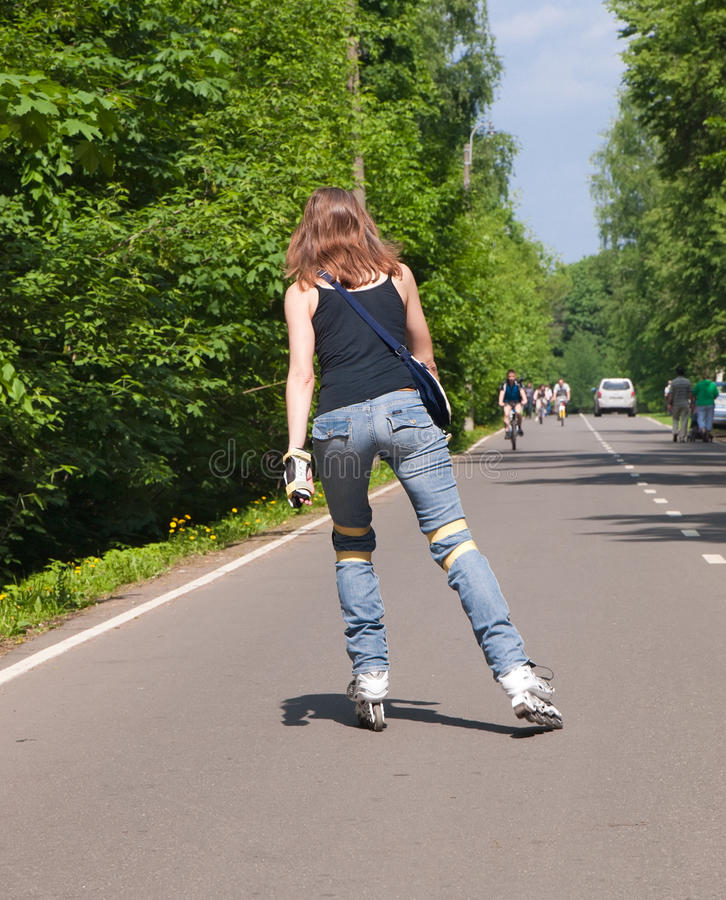 Download Roller skater stock photo. Image of healthy, adult, recreational - 19866532
