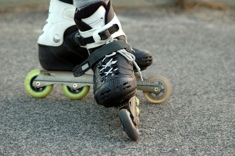 Rollerblade skates royalty free stock images