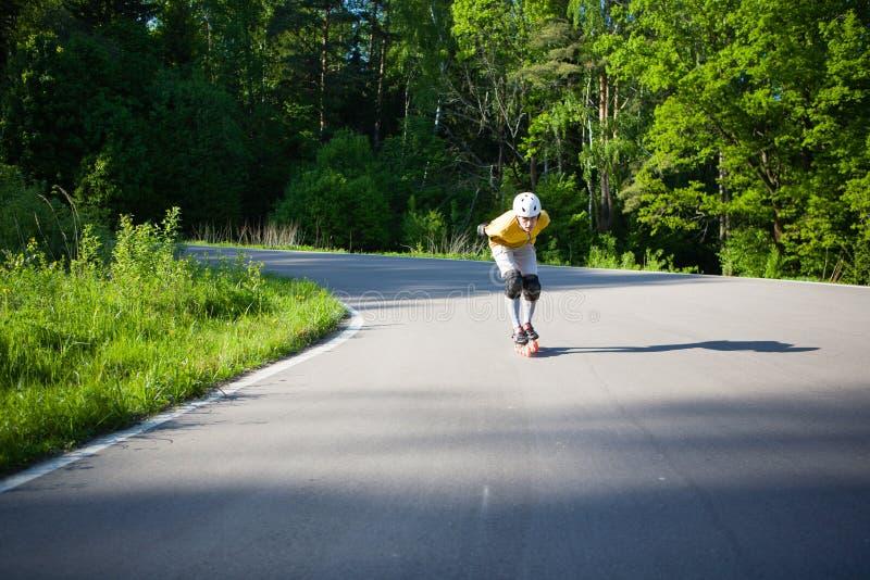 Rollerblading στοκ φωτογραφία με δικαίωμα ελεύθερης χρήσης