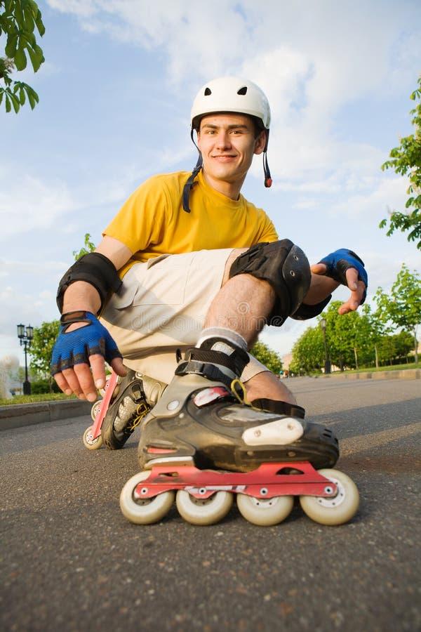 Rollerblading στοκ εικόνες με δικαίωμα ελεύθερης χρήσης